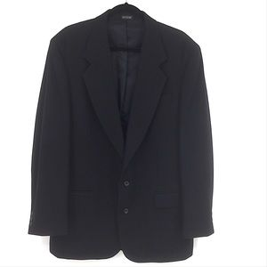 Oscar De La Renta Wool Cashmere Sports Coat 42L